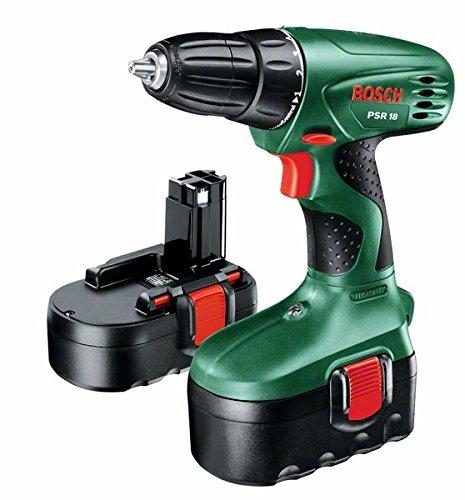Preisvergleich Produktbild Bosch Bohrer-Akkuschrauber PSR 18 / 2-aku, 603955321