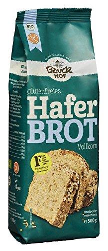 Bauckhof Bio Haferbrot Vollkorn glutenfrei (6 x 500 gr)