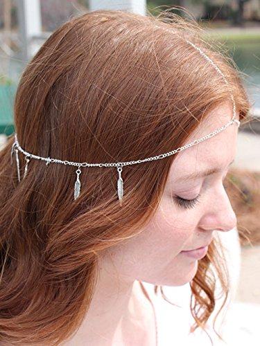 Yean Kopf Kette Kopf Kleid Bohemian-Stil für Frauen und Mädchen