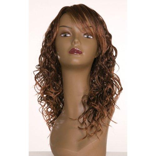 Dream Hair Wig Cool : T1B/30 cheveux synthétiques perruque de longueur moyenne bouclés cheveux synthétiques)
