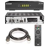 Comag DKR 60 HD digitaler Full HD Kabel-Receiver (PVR Ready, HDTV, DVB-C, Time Shift-Funktion, HDMI, SCART, USB 2.0) inkl. HDMI Kabel, schwarz