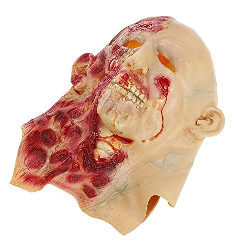 Tianzhiyi Halloween-Werkzeuge Crying Face Mask, Horror Ghost Kopfbedeckung Monster für Halloween Party Dekoration Hinterzimmer Film Requisiten (Size : 2#)