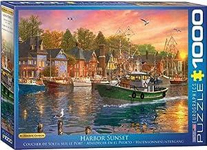 Eurographics 6000-0969 - Puzzle (1000 Piezas), diseño de Harbour Sunset