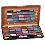 Gold and Gold Cameleon 24 Colors Eye Shadow