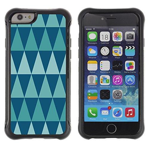 Graphic4You CHICKEN AND WAFFLES Muster Shockproof Anti-Rutsch Weichen Hülle Case Tasche Schutzhülle für Apple iPhone 6 / 6S Design #4