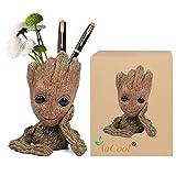 Yacool Baby Groot Blumentopf / Stiftehalter, personalisierte Baby Groot Flowerpot Indoor Outdoor Action-Figuren Modell Spielzeug Bestes Geschenk für Kinder - 1pcs