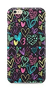 Galaxy F-K-IP6-01-018 Mobile Case for Apple iPhone 6 (Multi-Color)