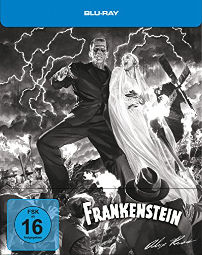Frankenstein - Steelbook designed by Alex Ross [Blu-ray] [Limited Edition]