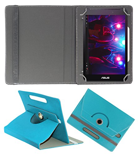 ACM ROTATING 360° LEATHER FLIP CASE FOR ASUS FONEPAD 7 FE170CG TABLET STAND COVER HOLDER GREENISH BLUE  available at amazon for Rs.149