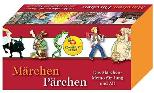 Mrchen-Prchen-Das-Mrchen-Memo-fr-Jung-und-Alt-64-Memo-Karten Märchen-Pärchen: Das Märchen-Memo für Jung und Alt. 64 Memo-Karten. -