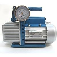 Commercio, Industria e Scienza 2 mt di tubo vinilico in dotazione Prodotti scientifici e per laboratorio Pompa del vuoto 42 lt/min con vacuometro e rubinetto