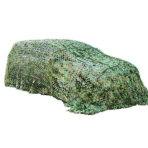 HCYTPL Red de Camuflaje - Tela de Red de Camuflaje Oxford para sombrilla de Coche, Camping de Ocio, Bares - Verde,4 * 5m