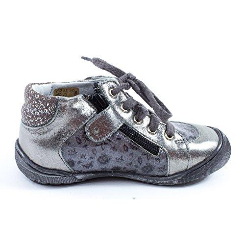 Boots fille gris GBB LULU 31611 Gris