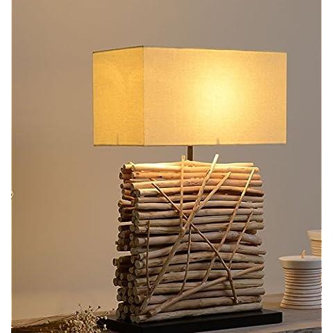 FEI&S lampada in legno Hotel Club tè