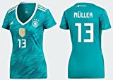 adidas group Trikot Damen DFB 2018 Away WC - Müller 13 (XS)