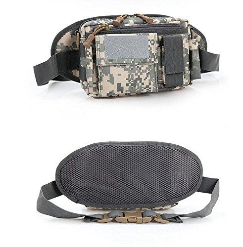 &zhou Kleine Taschen für Verwendung im freien abnehmbare Reiten Männer und Frauen kombiniert Geldbörsen Bewegung Schulter Umhängetasche 2