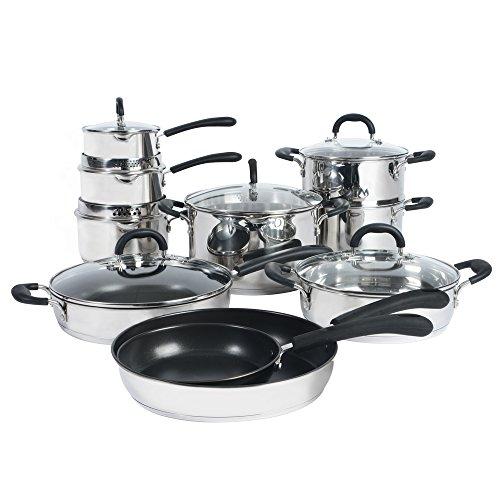 ProCook Gourmet Stainless Steel Induction Cookware Set 10 Piece - PRIME SUMMER DEAL!