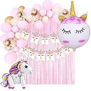Decoración Cumpleaños de Unicornio para
