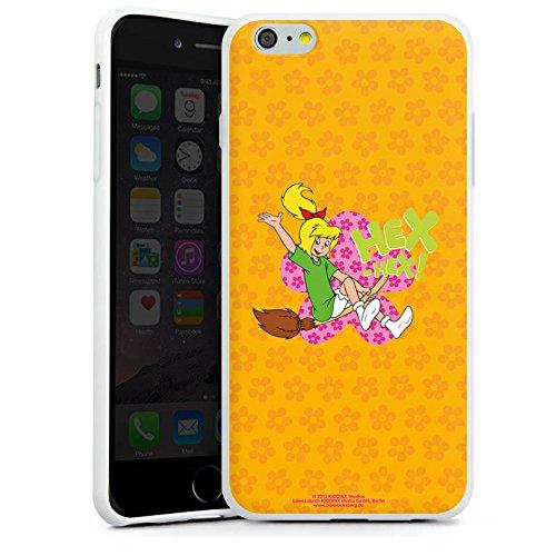 Apple iPhone X Silikon Hülle Case Schutzhülle Bibi Blocksberg Fanartikel Merchandise Eene Meene Blume Silikon Case weiß