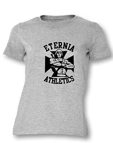 Eternia Athletics- Damen T-Shirt Grau / Schwarz