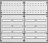 Striebel&John Kleinverteiler AP AT63K 6-reihig, IP43 Installationskleinverteiler 4011617301332