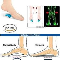 pedimendtm Fußgewölbe Kissen Flach Füße Schmerzen lindern Plantarfasziitis Gel fügt | Plantarfasziitis Relief... preisvergleich bei billige-tabletten.eu