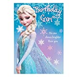 Hallmark Disney Frozen Geburtstag Karte Magic and Laughter – Medium
