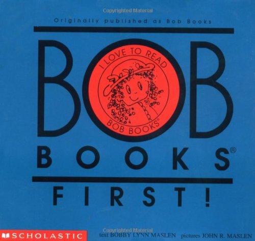 1 Level Scholastic Set (Bob Books First!: Set 1 Level A)