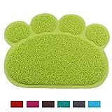 Jomia Neues Design Hund Katzen Pads Pets Füße Matte, Puppy Schüssel Kitten Food Wasser Tisch-Sets PVC-Matte shape-multiple Farben