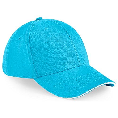 Beechfield - Casquette de Baseball - Homme taille unique Surf Blue/White