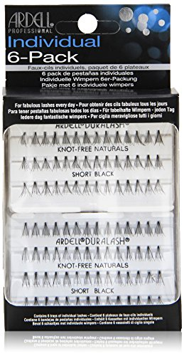 Ardell Value Salon Pack 6 x 56 SHORT Black Cils Individuels