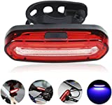 GreenClick COB Waterproof IPX6 Powerful 120 Lumens Rechargeable USB LED Bike Rear Light