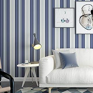 Yosot Blaue Mittelmeer Wohnzimmer Schlafzimmer Tapete Simple Non Woven  Gestreift Fernseher Sofa Hintergrundbild