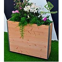 Verde giardino sollevato letto SY hfoe neih Ecru–85x 28x 73cm ggpkl