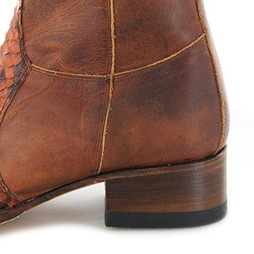 Sendra Boots  5701P, Chaussures bateau pour homme Piton Peanut Tan