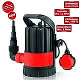 Grafner® Klarwasser Tauchpumpe 400 Watt
