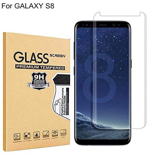 RUIST Samsung S8 Schutzfolie,Samsung S8 Schutzglas,Ultra Dünn Panzerglas Panzerschutz Folie Glas Folie [9H] Panzerfolie Folie Displayschutz Folie für Samsung Galaxy S8