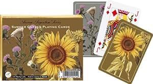 Piatnik Playing Cards - Summer Garden, double deck