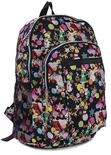 Big Handbag Shop , Sac mixte adulte Backpack 183 - Winter Scene