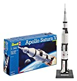 Revell 04909 - Apollo Saturn V Kit di Modello in Plastica, Scala 1:144