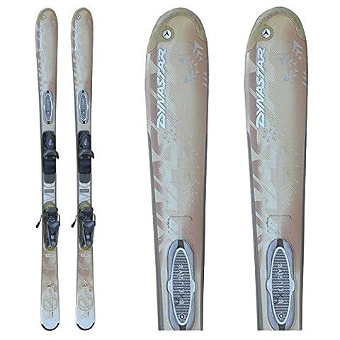 Skifahren Angebot Dynastar exklusiv 10 -creme + Befestigungen - 142 cm