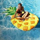 LXJ-LD Riesige aufblasbare Pose Aufblasbare schwimmende Reihe Riesige Ananas-Pose für Erwachsene & Kinder, Wasserspielzeug -216 * 124CM