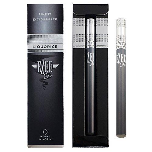 Cigarrillo Electrónico Ezee Go | e shisha Sabor Regaliz | Sin Nicotina y sin Tabaco | E Cigarrillo Desechable | Vaporizador con 1 ml E-líquido | Paquete de 1