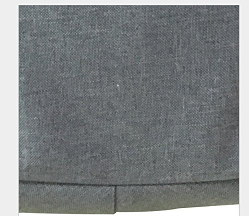 (30 * 15 * 40cm) Borsa Alta Scuola Sacchetto Impermeabile A Doppia Borsa Studente Gioventù (30 * 15 * 40cm) Grey