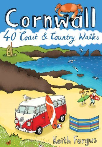 Cornwall : 40 Coast & Country Walks (Pocket Mountains) by Keith Fergus (2014-07-28)