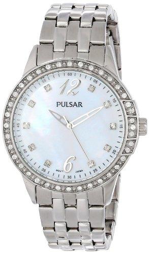 Pulsar Damas Pulsar Cuarzo: Batería Reloj PH8051