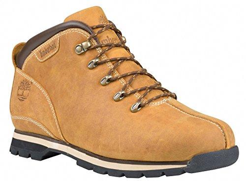 Timberland Mens Splitrock Hiker Leather Boots Braun