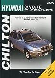 Hyundai Santa Fe 2001-06 Repair Manual (Chiltons Repair Manual)
