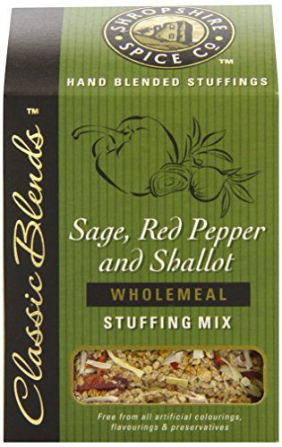 Shropshire Spice Co Sage Red Pepper and Shallot Stuffing (Pack of 6)