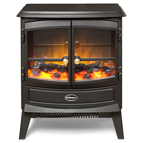 electric stove heat flame coal effect 2 kw fireplace. Black Bedroom Furniture Sets. Home Design Ideas